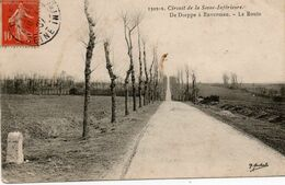 76. CPA. Série Circuit De La Seine Inférieure - De Dieppe à Envermeu - La Route - 1907. Scan Du Verso - - Frankrijk