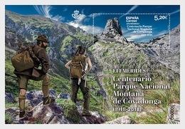 Spain 2019 - Covadonga Mountain National Park Centenary - Miniature Sheet Mnh - 2011-... Nuovi & Linguelle