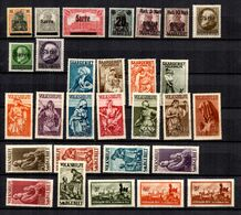 Sarre Belle Collection De Bonnes Valeurs Neufs * 1920/1935. B/TB. A Saisir! - 1920-35 Société Des Nations