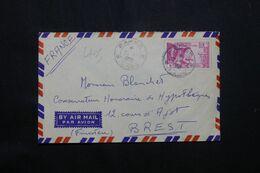LAOS - Enveloppe De Pakse Pour La France En 1959 - L 69763 - Laos