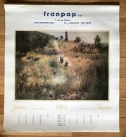 Calendrier Des Années 1989 Format 30x30 Cm - Andere Verzamelingen