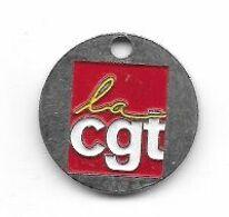 Jeton  De  Caddie  Syndicat  C G T  Verso  PRUD ' HOMMES  97  10  DÉCEMBRE - Trolley Token/Shopping Trolley Chip