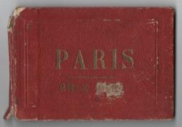 Petit Livret Souvenir De PARIS/10 Gravures:Madeleine,Bourse,Louvre,OpéraTTuileries,Vendôme,Etoile,etc/Vers 1858  NAP14 - Souvenirs