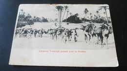 Caravane Touaregh Partant Pour Le Soudan - Ed. Simeone Di H. Naim , Tripoli De Barbarie - Sudán