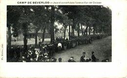 Jeux Et Concert Dans L'Avenue Van Der Smissen  LEOPOLDSBURG BOURG LEOPOLD Camp De BEVERLOO KAMP WWICOLLECTION - Leopoldsburg (Beverloo Camp)