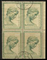 GREECE- GRECE - HELLAS 1950: UPU Block / 4 Compl. Set Used - Oblitérés