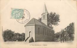 ALGERIE TROIS MARABOUTS EGLISE - Algerije