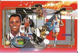 Olympic Games 1988 , Centraal Afrika  - Blok  Postfris - Summer 1988: Seoul