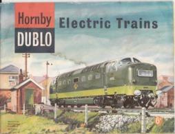 VP-GF.20-231 : CATALOGUE ANGLAIS HORNBY DUBLO ELECTRIX TRAINS. - Littérature & DVD