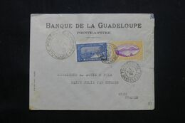 GUADELOUPE - Enveloppe Commerciale De Pointe à Pitre Pour La France En 1939 Avec Cachet De Contrôle Postal - L 69790 - Lettres & Documents