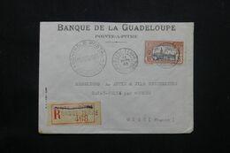 GUADELOUPE - Enveloppe Commerciale En Recommandé De Basse Terre Pour La France En 1940 Avec Contrôle - L 69792 - Lettres & Documents