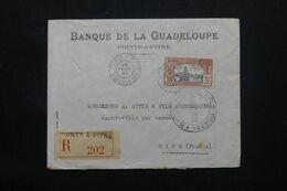 GUADELOUPE - Enveloppe Commerciale En Recommandé De Pointe à Pitre Pour La France En 1940 Avec Contrôle - L 69793 - Lettres & Documents
