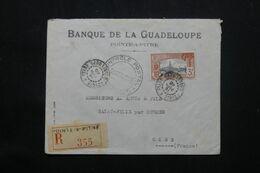 GUADELOUPE - Enveloppe Commerciale En Recommandé De Pointe à Pitre Pour La France En 1940 Avec Contrôle - L 69794 - Lettres & Documents