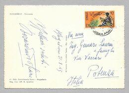SOMALIA 1965 SU CARTOLINA MOGADISCIO N°169 - Somalië (1960-...)