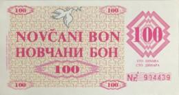 Bosnia 100 Dinara, P-6r (1992) - UNC - Bosnia And Herzegovina