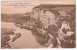 LA ROQUE GAGEAC.CHATEAU DE LA MALARTRIE.VALLEE DE LA DORDOGNE - France