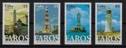 CUBA 2014. FAROS. MNH. EDIFIL 6018/21 - Nuevos