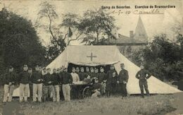 Exercice De Brancardiers Medical   LEOPOLDSBURG BOURG LEOPOLD Camp De BEVERLOO KAMP WWICOLLECTION - Leopoldsburg (Beverloo Camp)