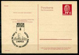 """DDR - Ganzsachen-Postkarte Wilhelm Pieck Mit Zudruck """"WOLFEN (KR.BITTERFELD), 3.WOPHILA - Ungebraucht - Cartoline Private - Nuovi"""