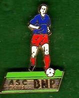 Pin's ASC BNP Foot Ball Zamac  Ballard - Pin's & Anstecknadeln