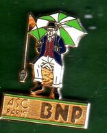 Pin's ASC BNP Pécheur  Zamac  Ballard - Pin's & Anstecknadeln