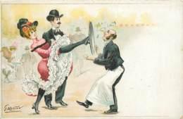 Illustration De G MOUTON , French Cancan , * 382 55 - Otros Ilustradores
