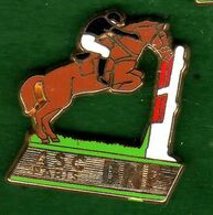 Pin's ASC BNP Equitation  Zamac  Ballard - Pin's & Anstecknadeln