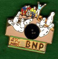 Pin's ASC BNP Bowling Zamac  Ballard - Pin's & Anstecknadeln