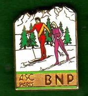 Pin's ASC Ski De Fond Zamac  Ballard - Non Classés