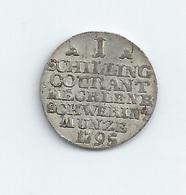 SCHILLING DU MECKLEMBOURG-SCHWERIN 1795 ARGENT - Groschen & Andere Kleinmünzen