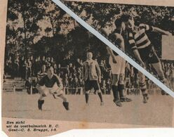 VOETBALSPORT..1938.. R.C. GENT - C. S. BRUGGE - Non Classés