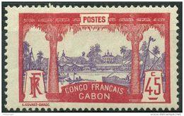 Gabon (1910) N 43 * (charniere) - Non Classés