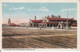 264735Albuquerque, Alvarado Hotel (Crease Left Up, And X) - Albuquerque