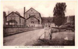 28 Environs De Nogent-le-Roi - BRECHAMPS - Vue Sur L'Eure Au Moulin De Ruffin - France
