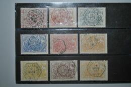 Belgique 1879/82 Colis Postaux Oblitérés - Oblitérés