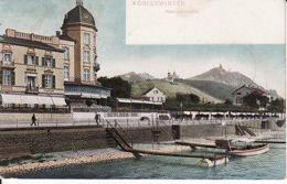 2638206Köningswinter, Rheinpromenade Mit Hotel Berlinerhof 1907 - Koenigswinter