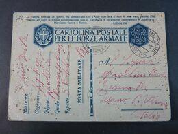 """474 ITALIA Regno -1941- Storia Postale """"Franchigia"""" P. Militare Nº 83 USº (descrizione) - 1900-44 Victor Emmanuel III"""