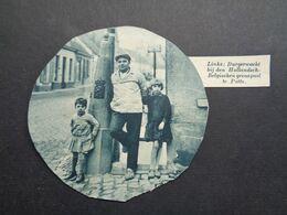 """Origineel Knipsel ( 6251 ) Uit Tijdschrift """"  De Stad """" 1936 :   Grens   Douane  Putte - Alte Papiere"""