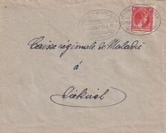 DDX 316 B  - LUXEMBOURG Ambulant - Lettre NORDINGEN-MARTELINGEN Bahnpost ZUG 1906 - Ex FLATZBOUR - Brieven En Documenten