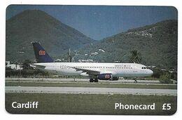 U.K. Airworld Summer 1995, Airbus A-320, Prepaid Phone Card, # Airworld-1 - Airplanes