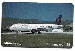 U.K. Airworld Summer 1995, Airbus A-320, Prepaid Phone Card, # Airworld-2 - Airplanes