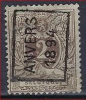 LIGGENDE LEEUW  Nr. 44 Voorafgestempeld Nr. 1 Positie A  ANVERS 1894 ; Staat Zie Scan ! - Préoblitérés