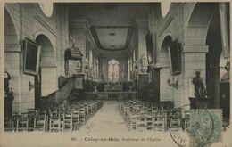 77 - CRECY-en-BRIE - Intérieur De L'Eglise - France