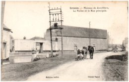 28 ECROSNES - Hameau De Jonvilliers - La Ferme Et La Rue Principale - Frankrijk