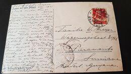 Luzern - Sent To Paramaribo Suriname - Gebruikt
