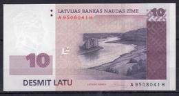 Lattland /Latvia ь 10;  Banknote / Paper Money - Del.5 - Latvia