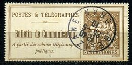 France Timbre Téléphone N° 25    Oblitéré  ( Oran ) - Telegraphie Und Telefon