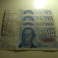 4 Banknotes - Münzen & Banknoten
