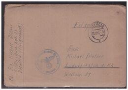 Dt- Reich (005206) Feldpost 5. FLG Ausb. Rgt 33, Detmold Fliegerhorst, Gelaufen Am 23.12.1941 Mit Inhalt - Covers & Documents
