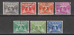 NVPH Nederland Netherlands Pays Bas Holanda 57-63 Used ; Roltanding, Syncopated, Syncope, Sincopado 1930 ALSO PER PIECE - Heftchen Und Rollen